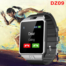 DZ09 Bluetooth SmartWatch Phone SIM Card For Android/IOS HTC Samsung Sony Silver
