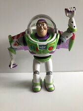 "Disney Toy Story Buzz Lightyear 12"" Talking Action Figure Lights + Sounds Mattel"