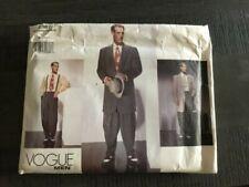 Vogue Retro Men's Zoot Suit Sewing Pattern #2367 size 38-42