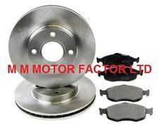 FOR FORD MONDEO MK1 MK2 (93-00) 1.6 1.8 TD 2.0 16v FRNT BRAKE DISCS AND PADS SET