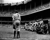 1948 New York Yankees BABE RUTH Glossy 16x20 'Farewell' Photo Baseball Poster