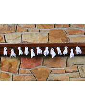 Friendly Ghost 6 Foot Garland Halloween Household Decoration