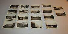 20 Found Photos 1940's era Niagara Falls & Various Scenery Lacrosse, WI B&W