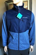 Columbia Men's SYNDER LAKE FULL ZIP Fleece Jacket size L $90 BLUE