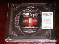 Nightwish: Vehicle Of Spirit 2 CD + 2 BR Blu Ray 4 Disc Set 2017 NB Digipak NEW