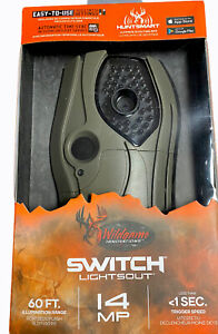 Wildgame Innovations Switch Lightsout Trail Camera 60ft 14mp Video Game Camera