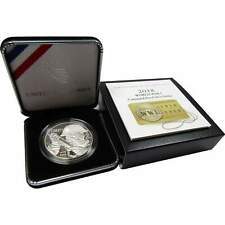 World War I Commemorative 2018 P 90% Silver Dollar Proof $1 Coin Ogp