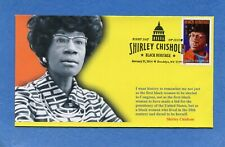 Sc #4856 Shirley Chrisholm S&T Cachet First Day Cover