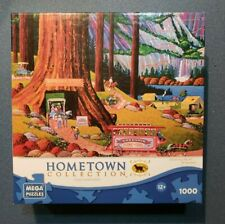 Hometown Collection Yosemite Camping 1000 Piece Jigsaw Puzzle Mega Brands