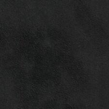 Auto Alcantara Cuoio Selvatico Vero camoscio Fb. nero senza Il retro del tessuto