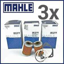3x MAHLE Filtro Olio OX 37d BMW R 80 GS PD PARIS DAKAR Paralever