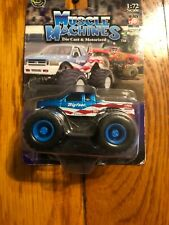 2004 MUSCLE MACHINES Ford F-150 BigFoot Monster Truck 1:72 Scale Pull Back RARE