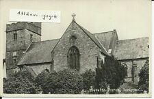 Frith RP postcard of Trevethin Church, Pontypool, Monmouthshire