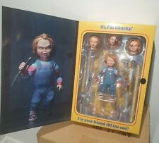 NECA Child's Play Chucky Figura de Acción Ultimate 10cm * original de Reino Unido Stock