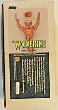Creative License Wolverine Ornament Gold Finish Porcelain 1996 4692/5000 MIB New