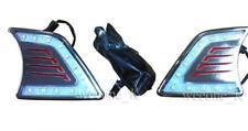 L.E.D. LED DAYLIGHT CHROME LAMP USE FOR TOYOTA HILUX MK7 VIGO CHAMP 2012 - 2014