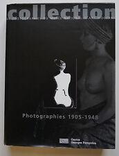 Livre Collection de photographies du Musée National d'Art Moderne Pompidou 1996