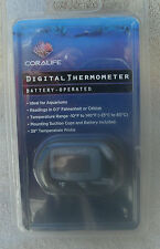 Coralife Battery-Operated Digital Thermometer ~ NEW