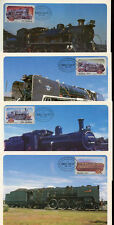 South Africa 1983 Steam Railway Locomotive Maximum Card Set #C13790