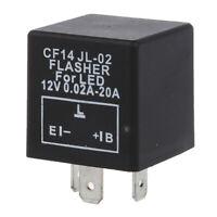LED RELAIS REPETITEUR CLIGNOTANT FLASHER E.L.B 3PIN POUR VOITURE MOTO V1J5