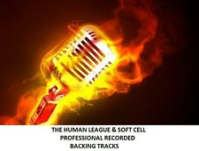 THE HUMAN LEAGUE & SOFT CELL  PROFESSIONAL RECORDED BACKING TRACKS