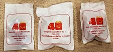 2019 McDonalds 40TH ANNIVERSARY The Surprise Happy Meal Toys #16 #17 & #18