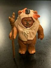 Vintage PAPLOO (Ewok) Star Wars Action Figure 1984 NO COO - COMPLETE