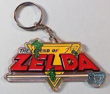 Original 1988 Legend of Zelda Official Nintendo of America Keychain NES era RARE