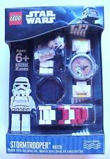 Star Wars Lego Buildable Wrist Watch Set STORMTROOPER Minifigure C-10 Mint