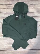 Nike Tech Fleece Windrunner Full Zip Hoodie Galactic Jade Men's Large 928483-370