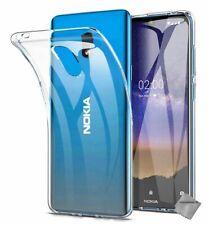 Housse etui coque silicone gel fine pour Nokia 2.2 + film ecran - TRANSPARENT TP