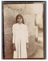 Egypte, Kénèh (قنا), Fille de Kénèh (Qena) Vintage citrate print Tirage ci