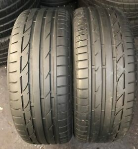 X2 225 45 19 Bridgestone Potenza S001 BMW RUN FLAT RSC 5.5mm++!!!(2503)
