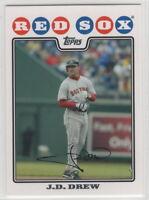 2008 Topps Baseball Boston Red Sox Team Set