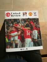Man Utd Manchester United v Crystal Palace Review Programme 2019/20 Premier