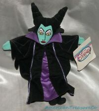 NEW 90s Disney Store Beanie Plush Villains Evil Maleficent Doll Sleeping Beauty