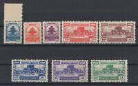 G139237/ LEBANON – Y&T # 48 / 55 MINT MNH / MH – COMPLETE – CV 145 $