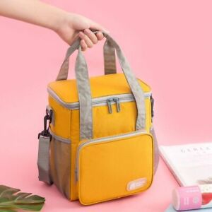 Lunch Food Box Bag Fashion Insulated Thermal Food Picnic Unisex Cooler Case New