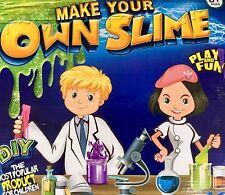 Slime Kit Lab Jumbo 6 Batches DIY, Glow Up, Neon, Satisfying, FUN SLIME!