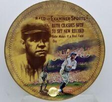 Babe Ruth Plates Centennial Collection Home Run 60th NY Yankees MLB