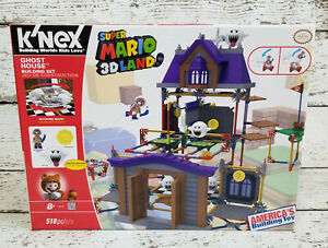K'NEX Nintendo Super Mario 3D Land Ghost House Building Set with Boo NEW NIB