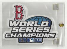 2004 Boston Red Sox World Series Champs 9x7 Jacket Size Patch Factory Sealed