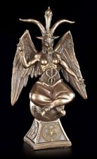 Baphomet Figure on Pentacle - Devil Satan Knights Templar Altar Figure