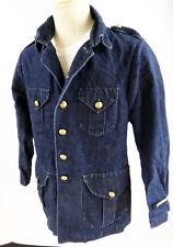 Comme des Garcons JUNYA Watanabe MAN medium blue denim military jean jacket mod