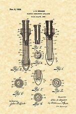 Patent Print - Sex Toy / Vintage Vibrator 1926. Ready To Be Framed!
