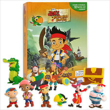 Jake And The Never Land Pirates My Busy Book & Map Plus 12 Figures