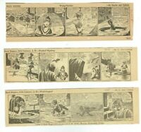 Vintage Buck Rogers 1939 Daily Comic Strip Set of 3 (#703, 704,705)
