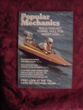 POPULAR MECHANICS magazine AUGUST 1974 Tunnel Hull Boat Renault 12 Buick Riviera