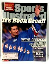 1999 April Sports Illustrated Magazine - Wayne Gretzky Retires