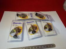 LOT 5 EA DREMEL TOOLS MODEL 404 BRISTLE BRUSH AS PICTURED 99-52